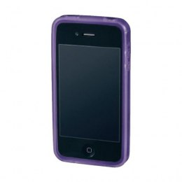 Hama iPhone 4 silikonowy Purpurowy pokrowiec apple