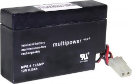 Akumulator MP0,8-12AMP Multipower 12V 0.8Ah