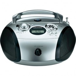 Boombox Radio CD GRUNDIG RCD1440 USB MP3 srebrny