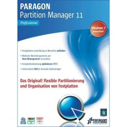 Paragon Partition Manager 11 Professional BOX ORGI